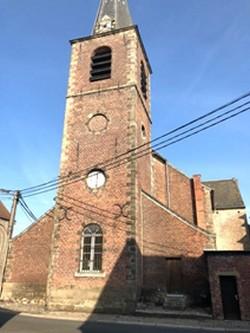 L'Ancienne Maison Communale et l'Eglise